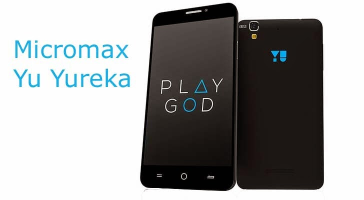 Micromax Yu Yureka with 64 bit snapdragon octa core processor and