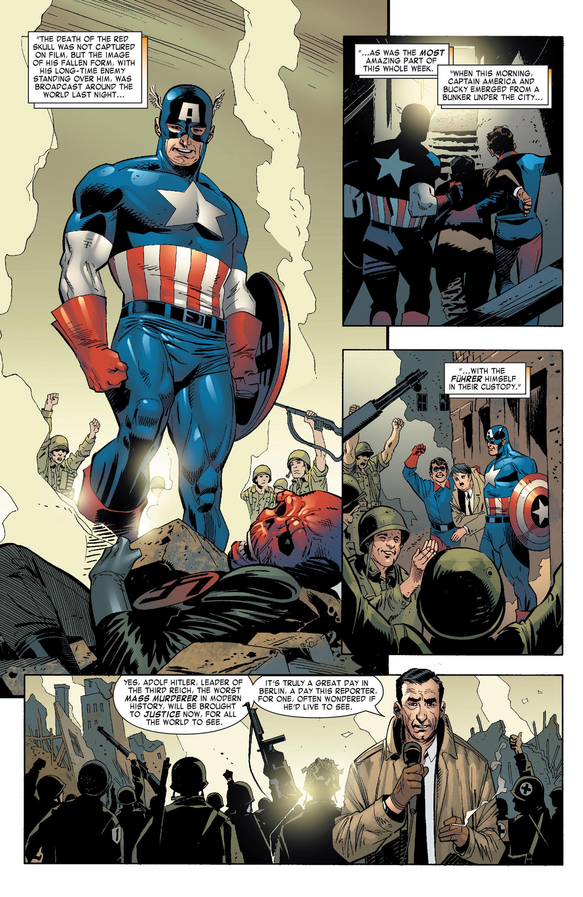 Captain America (2005) Issue #10 #10 - English 9