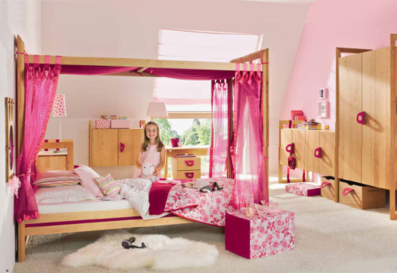 Kids Furniture Bedroom Sets for Girls 800 x 550