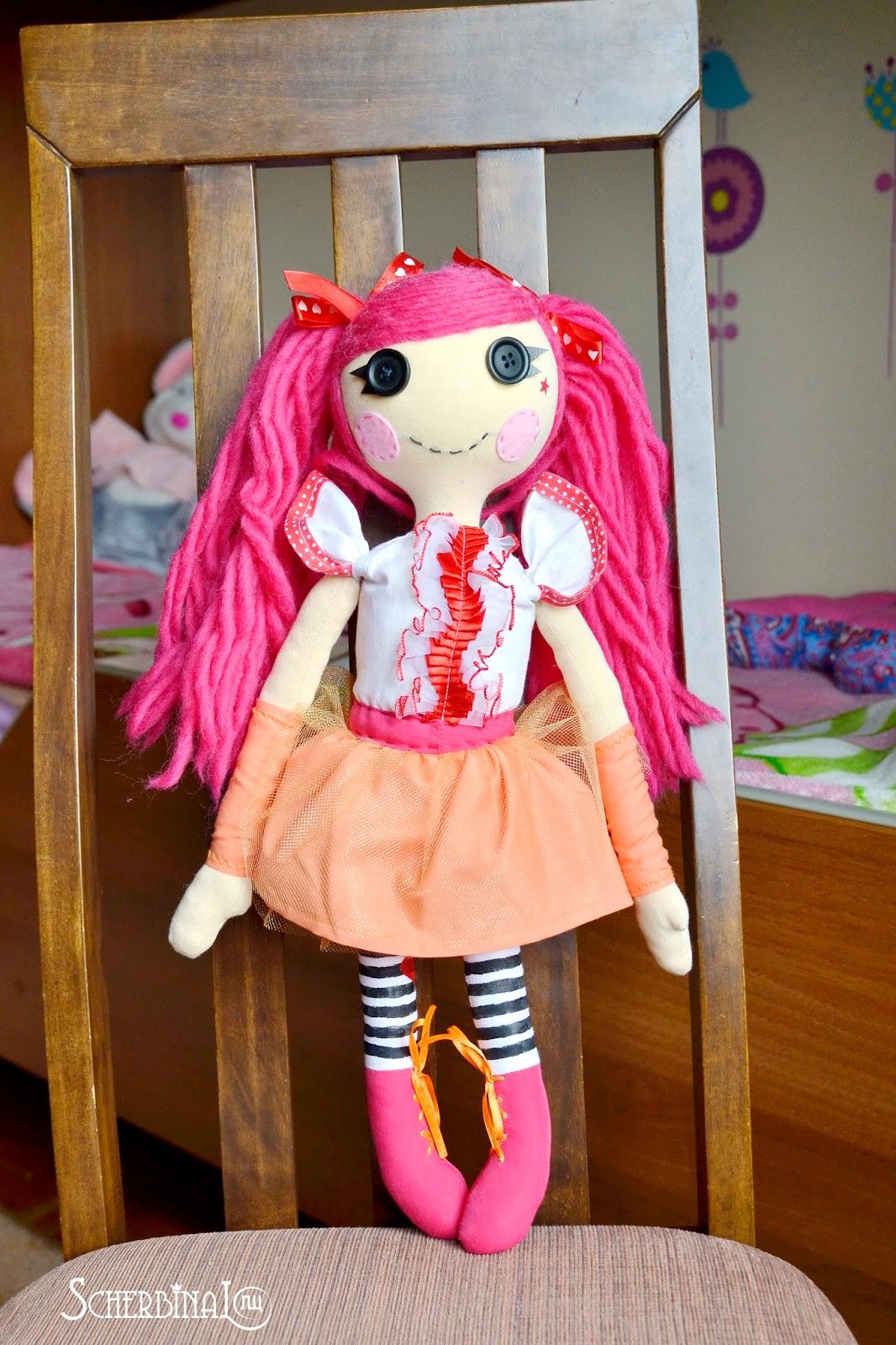 кукла лалалупси Смешинка своими руками