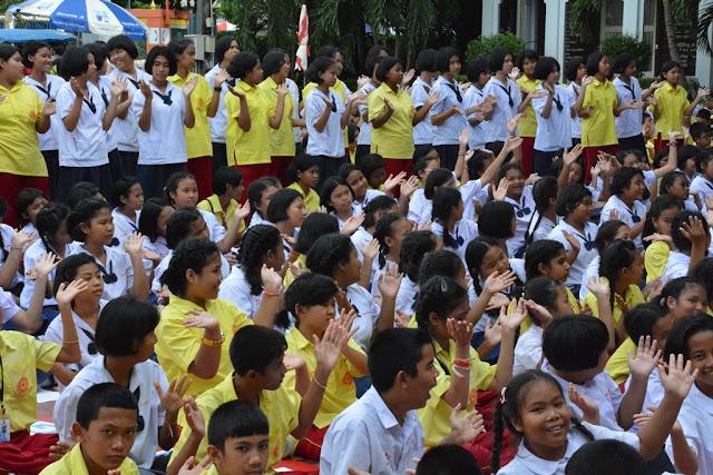 Wat Puttamongkon temple Phuket Town school