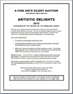 Kinnelon Fine Arts Silent Auction 2012: Start Bidding Now!
