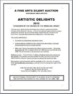 Kinnelon Fine Arts Silent Auction 2012: Start Bidding Now!
