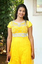 Actress Pragnya Latest Cute Hot Exclusive Yellow Dress