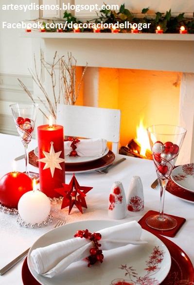 Como decorar mesas para navidad decoraci n del hogar - Mesas para navidad ...