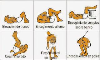ejercicios para fortalecer las abdominales