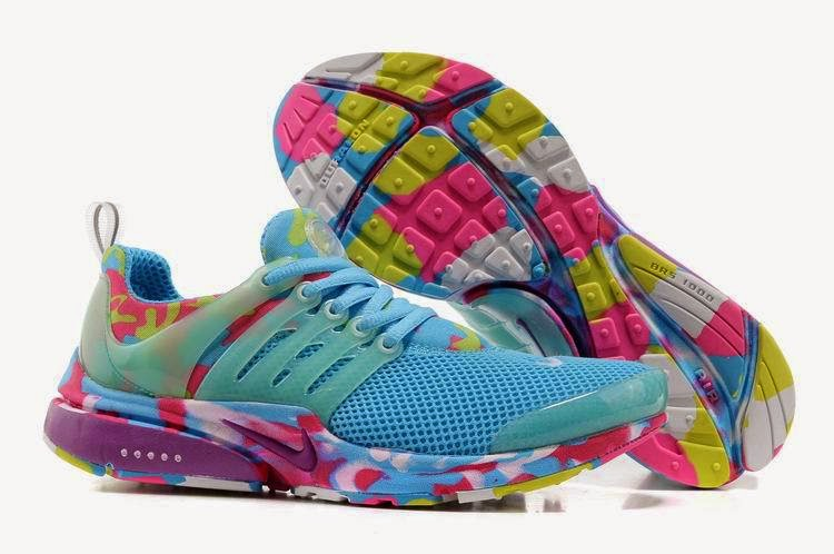Nike Running Shoes Colorful Air Sole For Girls