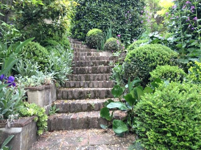 Il giardino gaudente mappa del giardino - Gradoni giardino ...