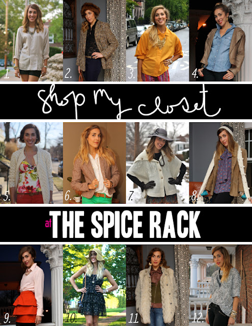 StyleAndPepperBlog.com : : Shop My Closet: The Spice Rack