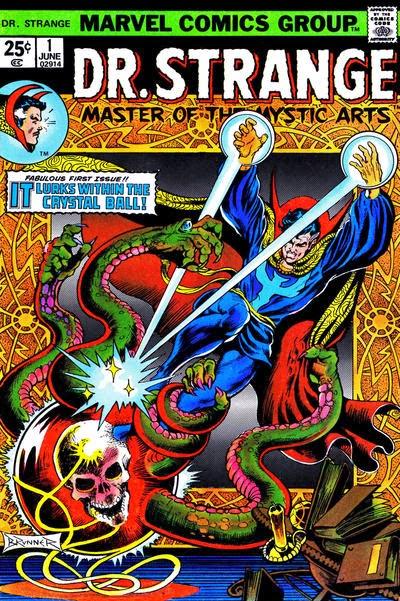 Portada de Doctor Strange Vol1-01