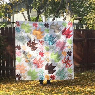 Denyse Schmidt modern maples quilt