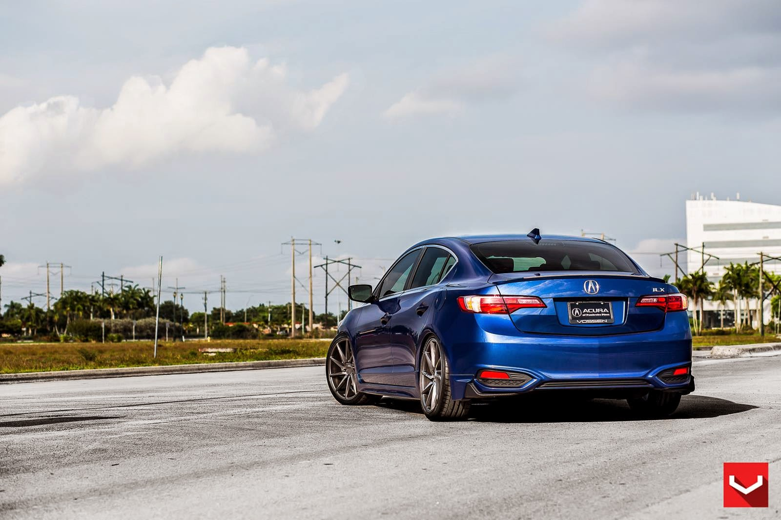 Acura ILX On CVT By Vossen Wheels