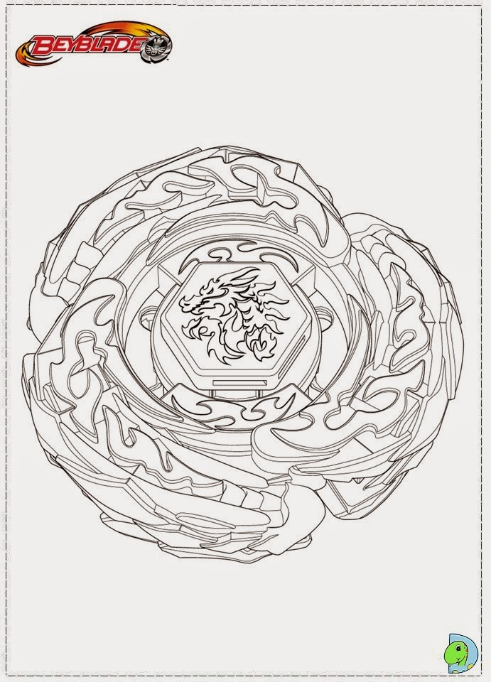 Dinokids desenhos para colorir desenhos de beyblade - Dessin toupie ...