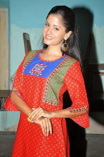 Aanukriti Govind Sharma looks So cute in Red Salwar Kameez Spicy Pics