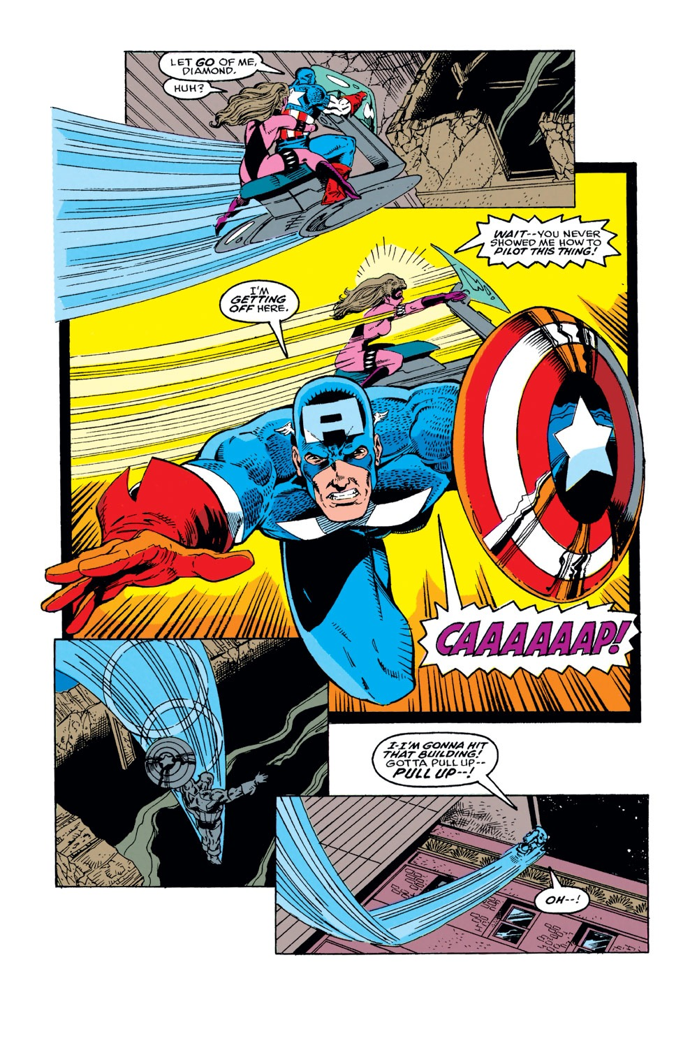 Captain America (1968) Issue #373 #306 - English 13