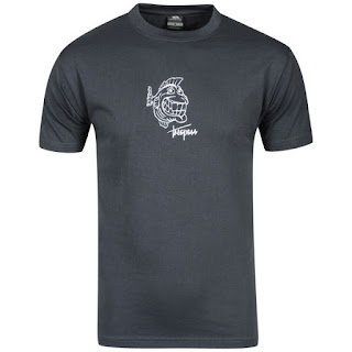 Trespass Men's Pittsburgh T-Shirt - Graphite