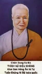 Ni Trưởng Bổn Sư T.N, Diệu Không (1905 - 1997)