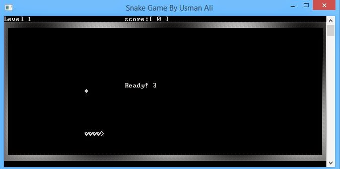 Usman Ali Snake Game