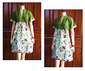 Dress Batik Solo DB 5052