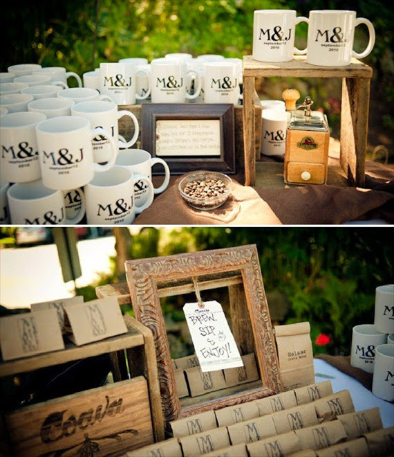 Wedding Talk Coffee Wedding Favors
