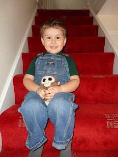 Big Boy on the Stairs