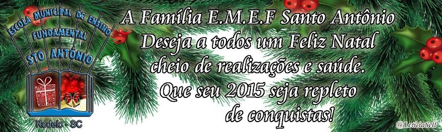 """EMEF """"Santo Antônio""""   >"""