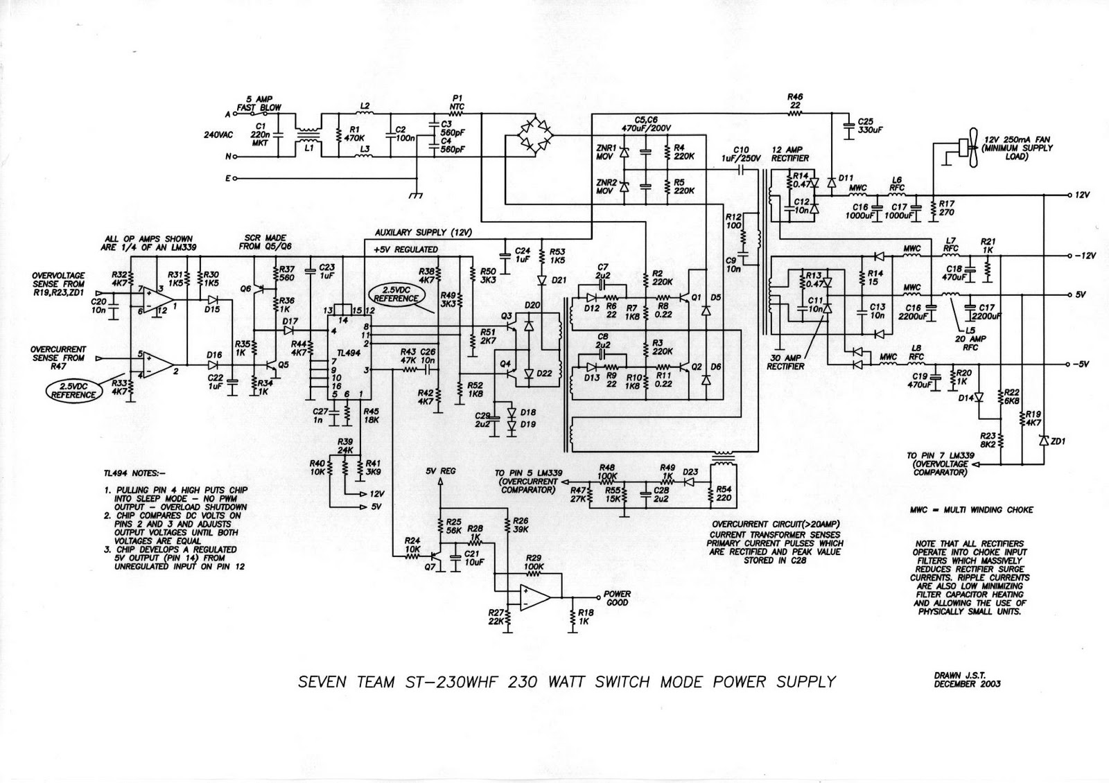 PS_ATX diagrams 620470 computer power supply wiring diagram power wiring diagram for tattoo power supply at fashall.co