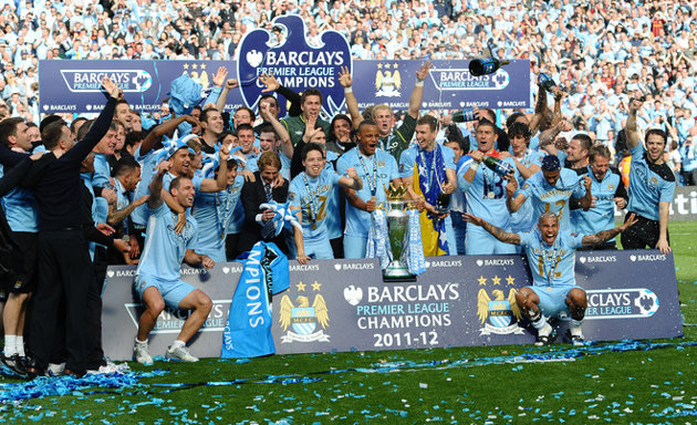 Manchester City campeão do Inglês, City campeão da Premier League
