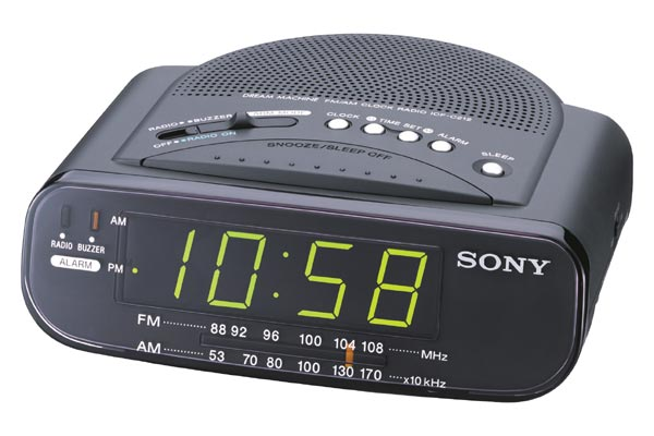 computer masala alarm clock radio. Black Bedroom Furniture Sets. Home Design Ideas