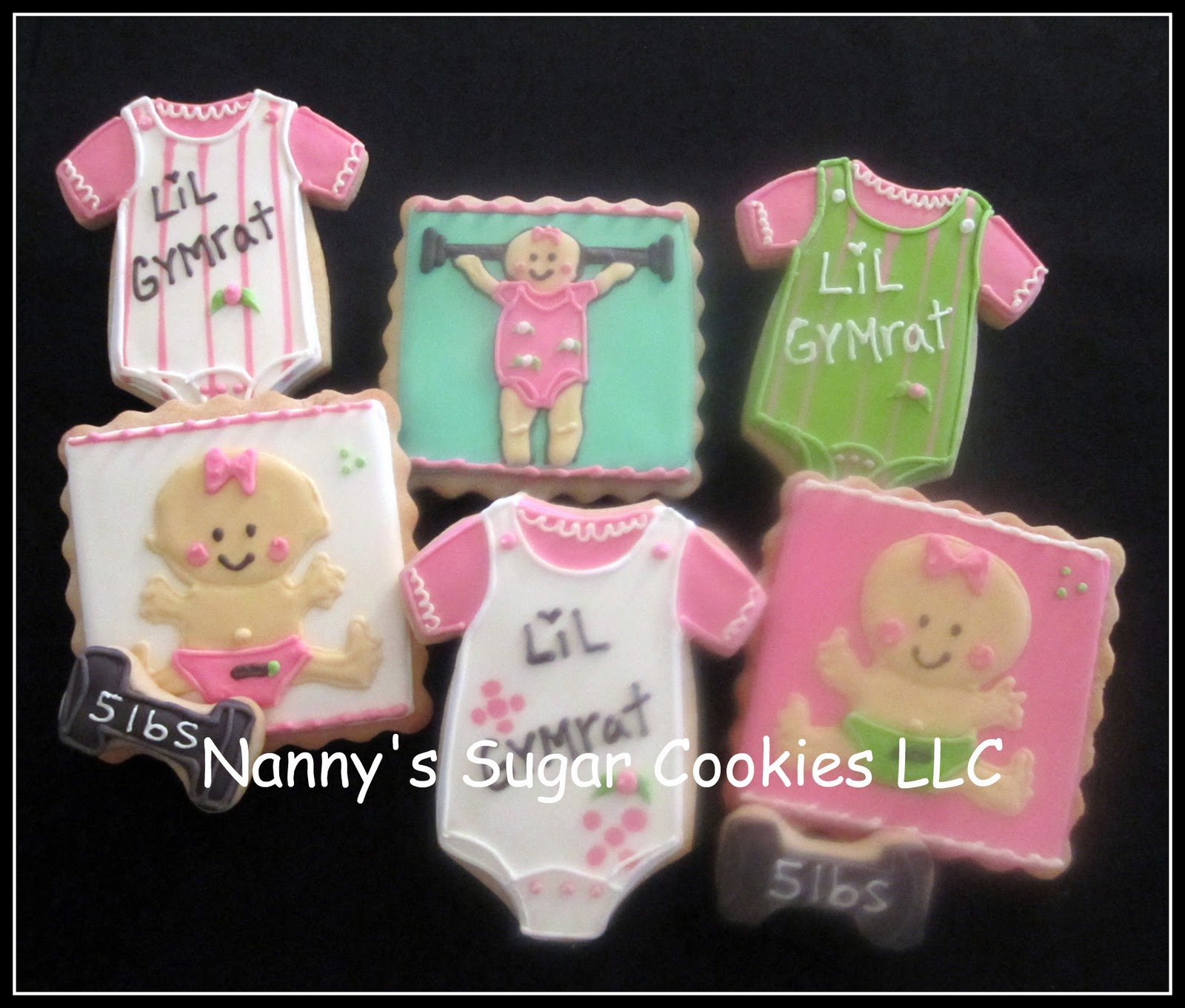 nanny 39 s sugar cookies llc baby shower