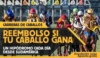 betfair gana 25 euros extras si tu caballo gana Hipódromo San Isidro 4 marzo