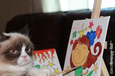 Foto-foto Grumpy cat 03