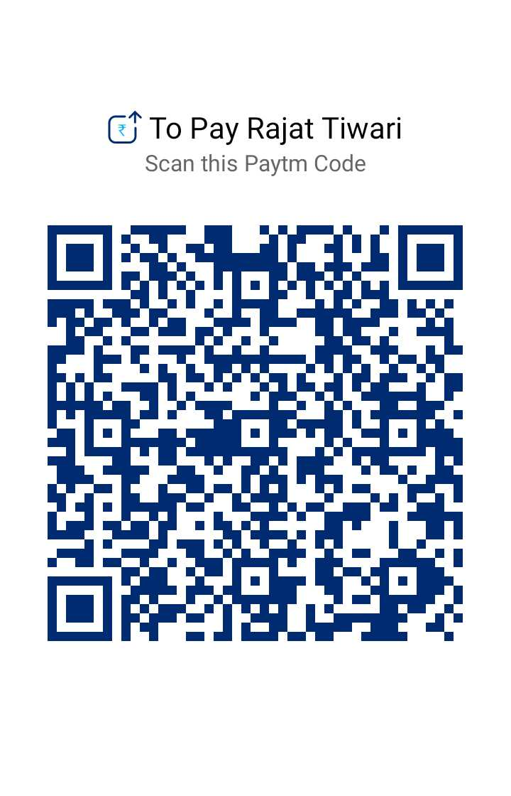 Donate Via Paytm