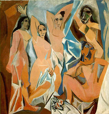 Pablo Picasso - Les demoiselles d'Avignon, 1907