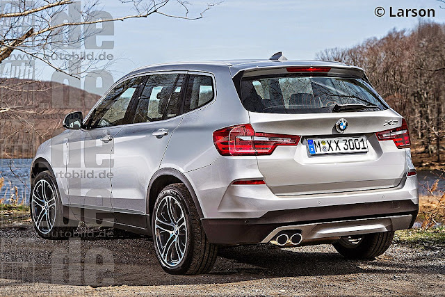2017 BMW X3 Changes and Release Date