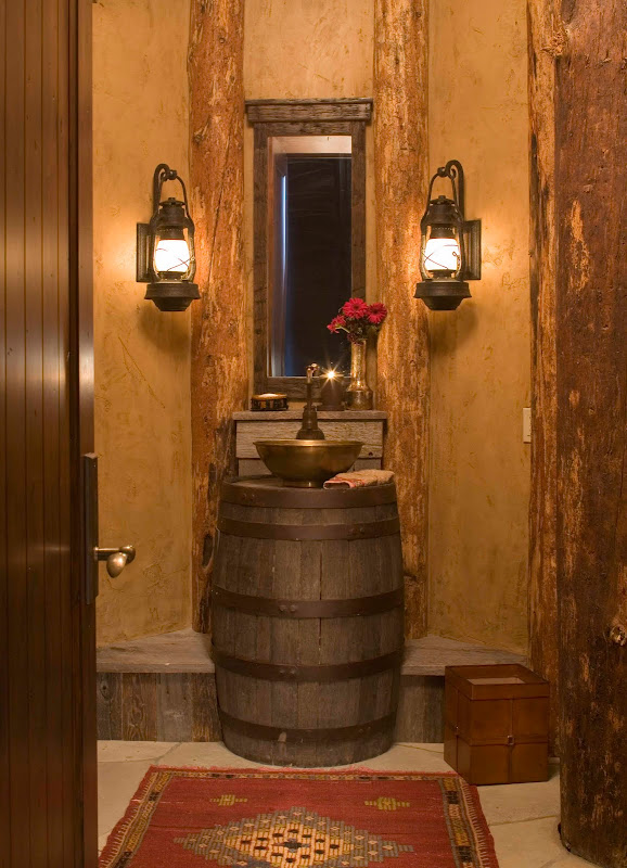 As we noted before, powder rooms offer a space to have fun and take  title=