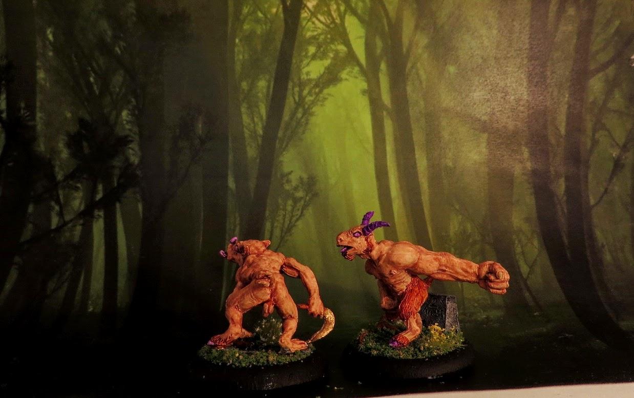 Goatkin, Fenris, beastmen, painted, Perky, Thumper