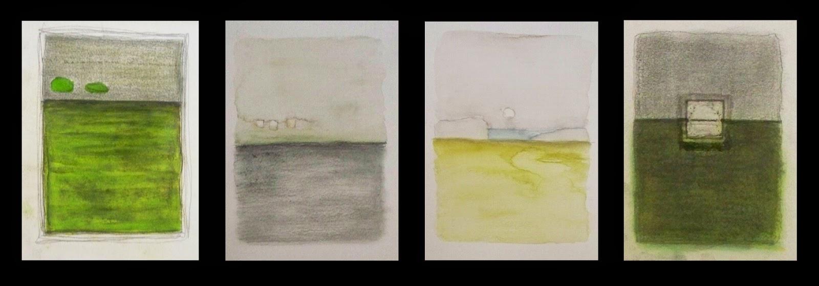 Pinturas abstractas de vanina martinez tecnicas mixtas for Imagenes de cuadros abstractos texturados