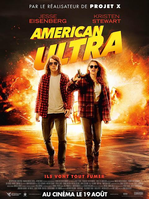 affiche, film, cinéma, american ultra, bullelodie