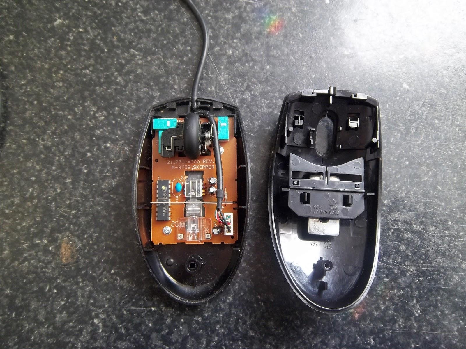 1 set original mouse shell mouse housing for Logitech M310