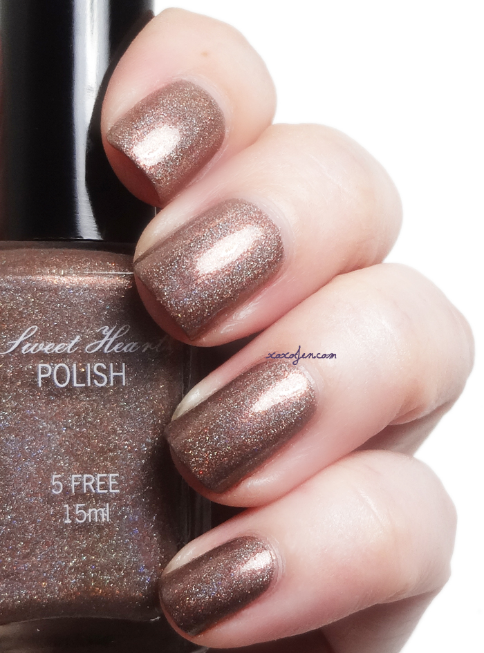 xoxoJen's swatch of Sweet Heart Polish Sugar & Spice