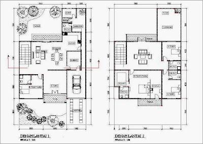 Di bawah ini contoh gamabr rumah type 45 minimalis yang sudah di ...