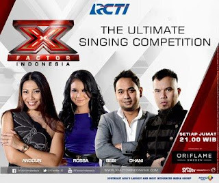 X FACTOR INDONESIA streaming