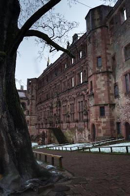 Heidelburg Castle Courtyard