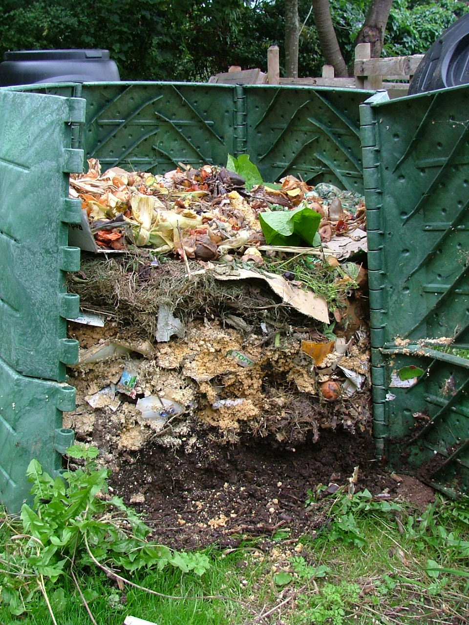 Nice How I Make Compost