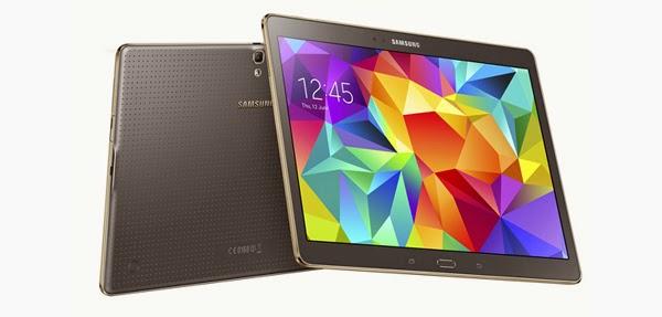 Samsung presenta su nueva tablet Samung Galaxy Tab S con pantalla 2K