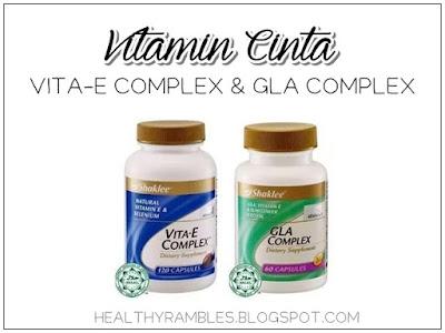 Vitamin Cinta - Vita-E Complex dan GLA Complex