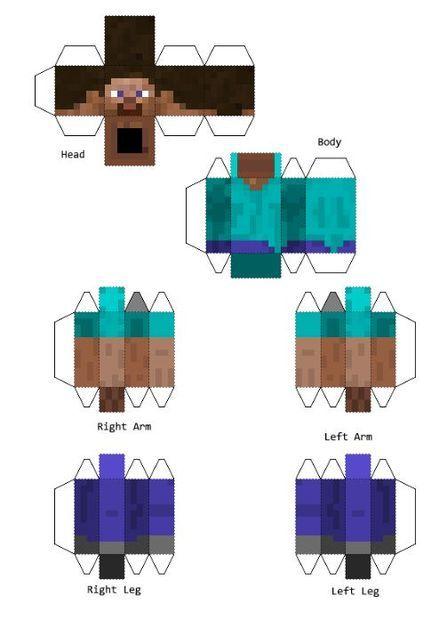 Trucos y videos gamer como hacer disfraz minecraft for Como hacer muebles en minecraft
