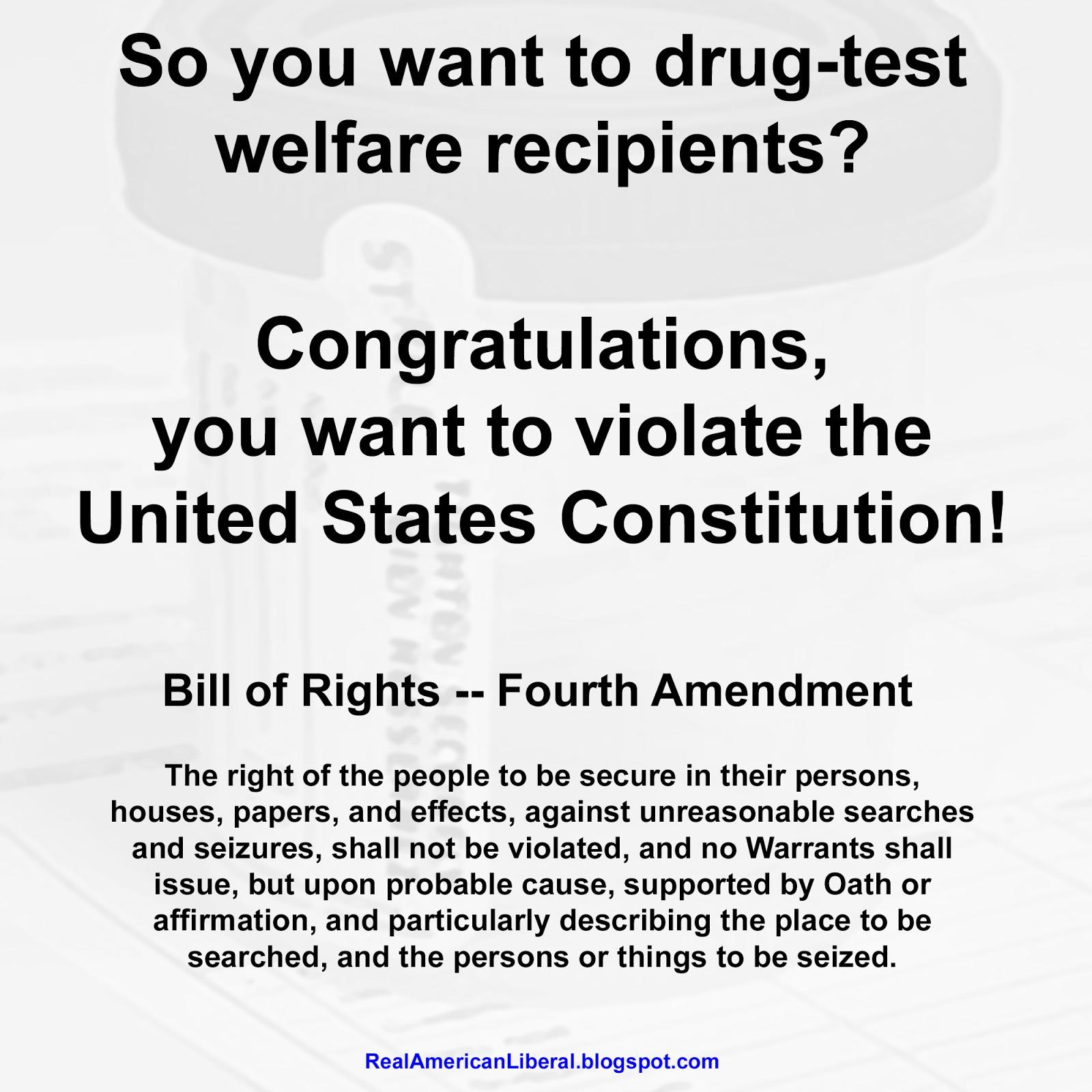drug testing for welfare reipients