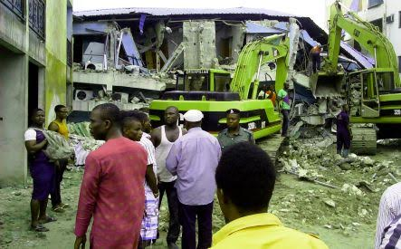Mekaval Hotel warri collapses